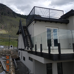 Frameless Glass Railing System